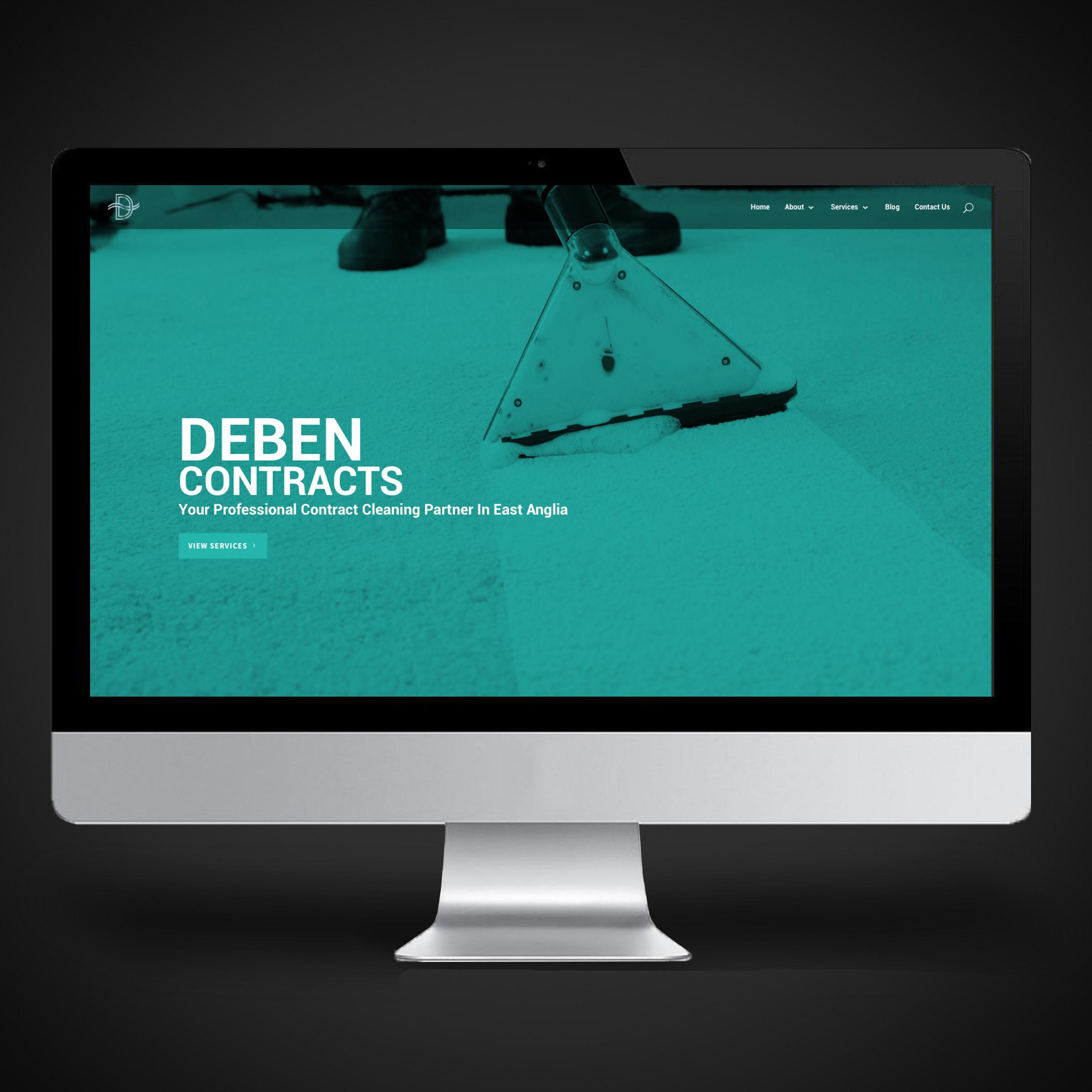 Deben Contracts Website design