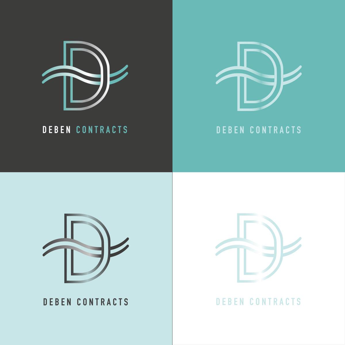 Deben Contracts Logo Variations